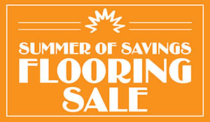 Summer of Savings Flooring Sale going on now at Bendele Abbey Carpet in Fort Myers!