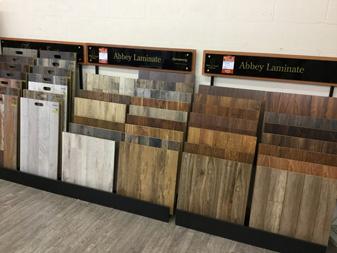 Showroom display at Bendele Abbey Flooring & Rug in Fort Myers, FL